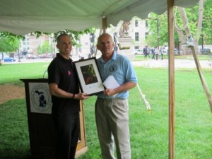 Bryan Waldman - Michigan Bicycle Advocate of the Year Award