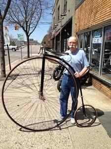 Ross Hill Bicyclist - Lansing, MI