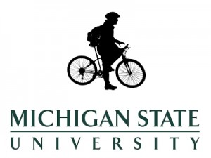 Michigan State University - Bicycles on Campus