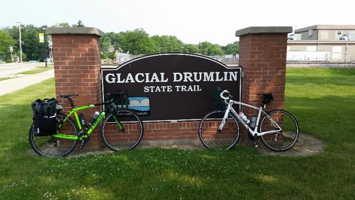 Glacial Drumlin State Train Bike Adventure