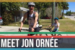 Jon Ornee on bike