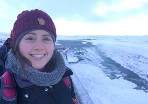 Parelegal Bri Coxon in Iceland