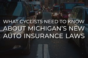 what cyclists need to know about new auto insurance law