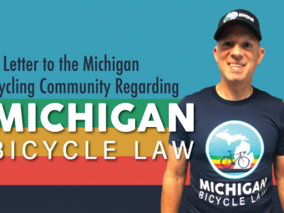 a letter to michigan cycling community