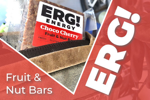ERG Energy Bar in Bike Bag