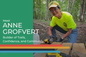 Meet Anne Grofvert Builder of Trails Confidence and Community