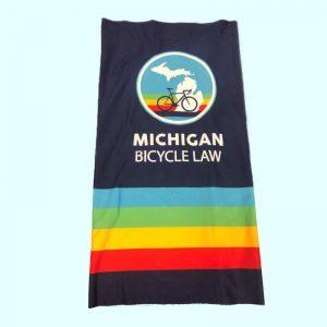 Michigan Bicycle Law Neck Gaitor